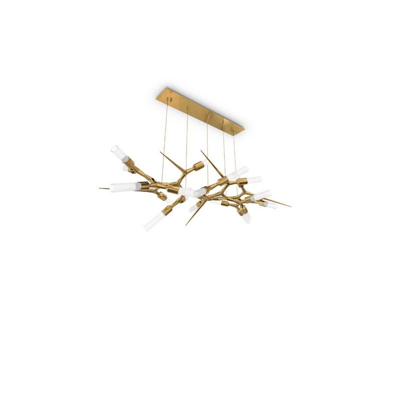 Ático Moderno en Nueva Yorque: Diseño de interiores de lujo Ático moderno Ático Moderno en Nueva Yorque: Diseño de interiores de lujo luxxu shard suspension lamp 01
