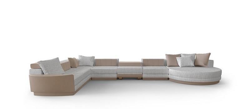 Ático Moderno en Nueva Yorque: Diseño de interiores de lujo Ático moderno Ático Moderno en Nueva Yorque: Diseño de interiores de lujo milenio modular sofa 1