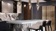 Cocinas Lujuosas: Inspiraciones y ideas para un proyecto elegante cocinas lujuosas Cocinas Lujuosas: Inspiraciones y ideas para un proyecto elegante modern kitchen decor ideas for 2021 2 178x100