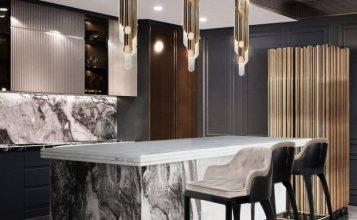 Cocinas Lujuosas: Inspiraciones y ideas para un proyecto elegante cocinas lujuosas Cocinas Lujuosas: Inspiraciones y ideas para un proyecto elegante modern kitchen decor ideas for 2021 2 357x220