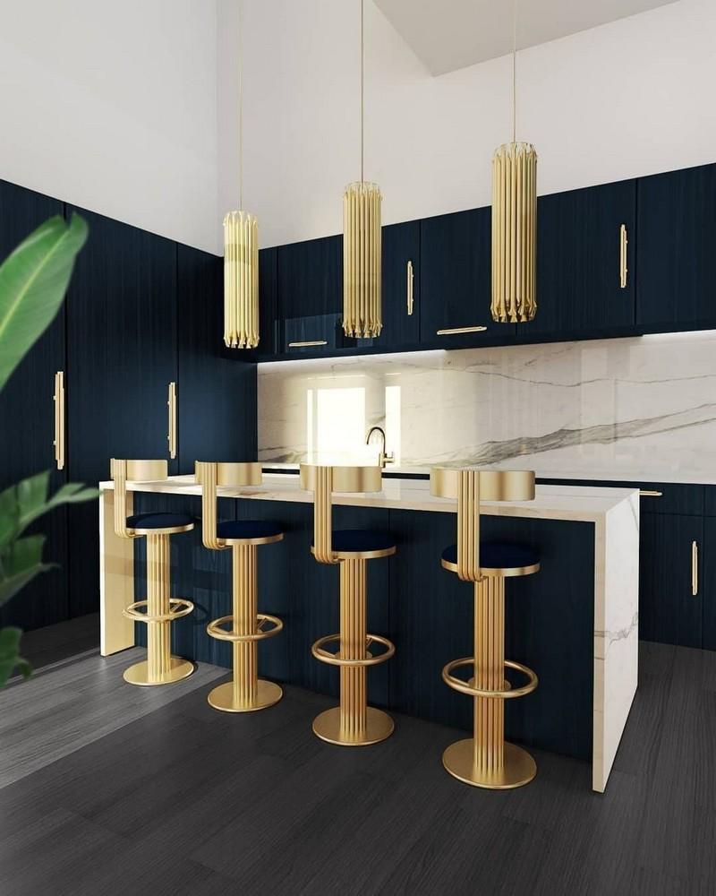 Cocinas Lujuosas: Inspiraciones y ideas para un proyecto elegante  cocinas lujuosas Cocinas Lujuosas: Inspiraciones y ideas para un proyecto elegante modern kitchen decor ideas for 2021 4