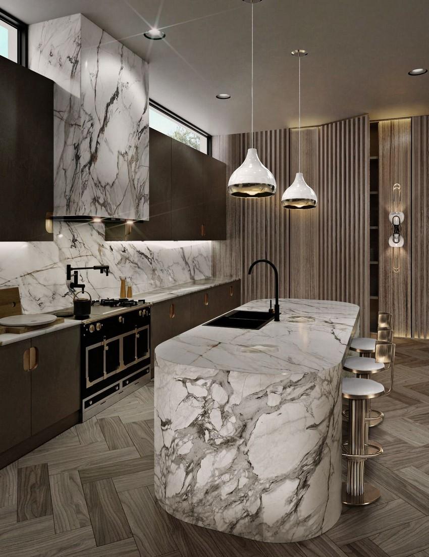 Diseño de Interiores: Cocinas y Comedores lujuosos con un estilo poderoso