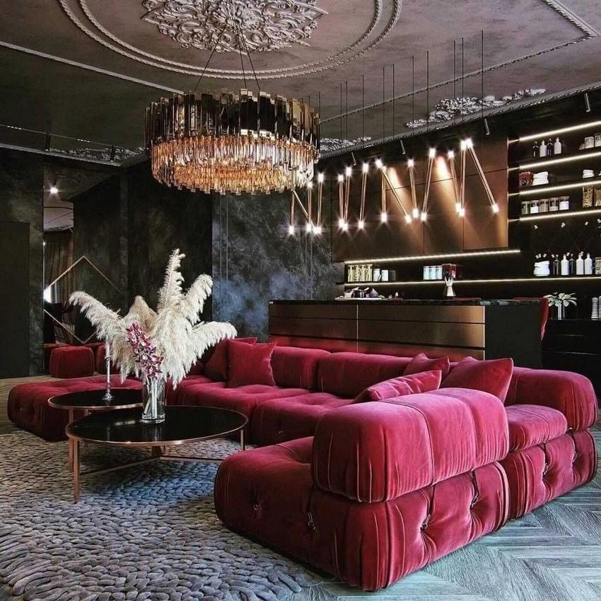 Sala de Estar lujuosa: Ideas para crear un estilo atemporal poderoso sala de estar lujuosa Sala de Estar lujuosa: Ideas para crear un estilo atemporal poderoso 4