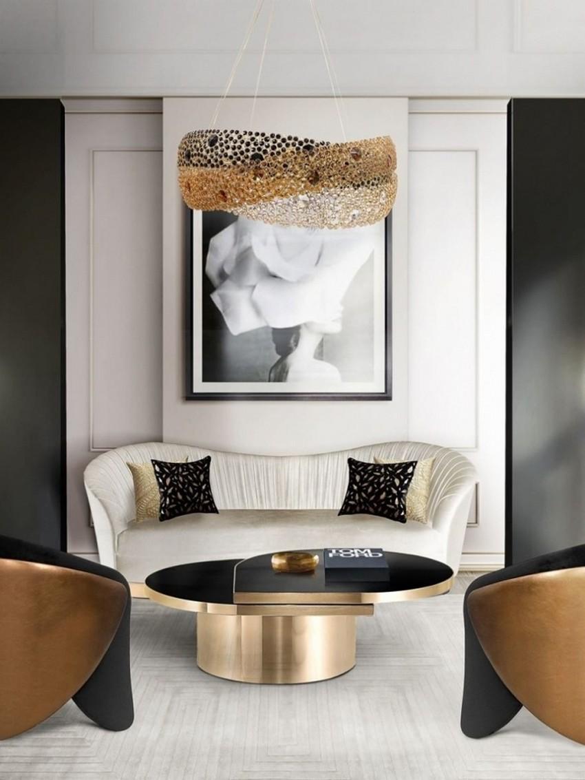 Sala de Estar lujuosa: Ideas para crear un estilo atemporal poderoso sala de estar lujuosa Sala de Estar lujuosa: Ideas para crear un estilo atemporal poderoso 9