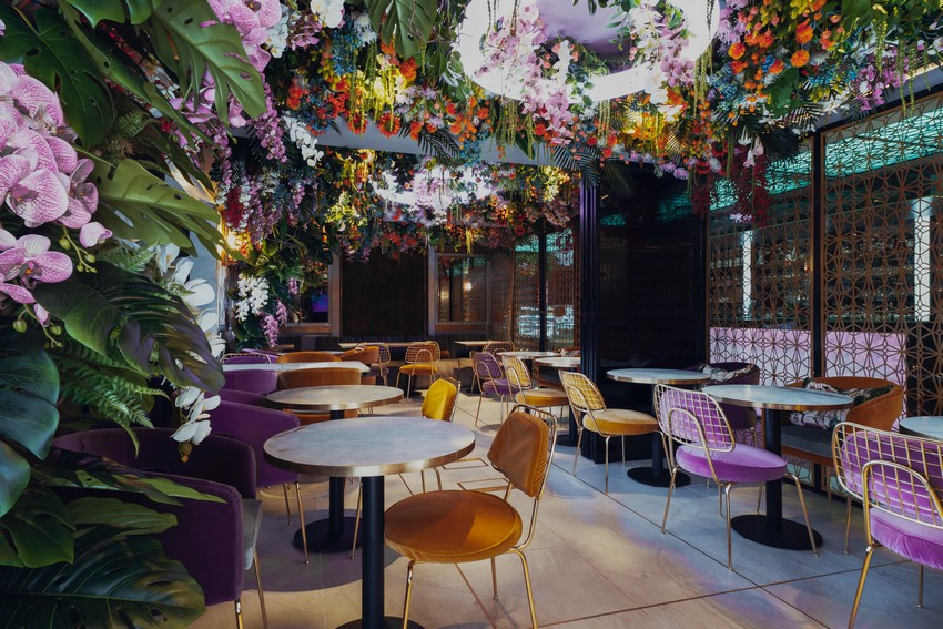 Salón de lujo en Mayfair: Arc Le Salon salón de lujo Salón de lujo en Mayfair: Arc Le Salon ARC Forest Cafe