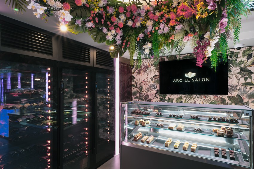 Salón de lujo en Mayfair: Arc Le Salon salón de lujo Salón de lujo en Mayfair: Arc Le Salon ARC Lobby