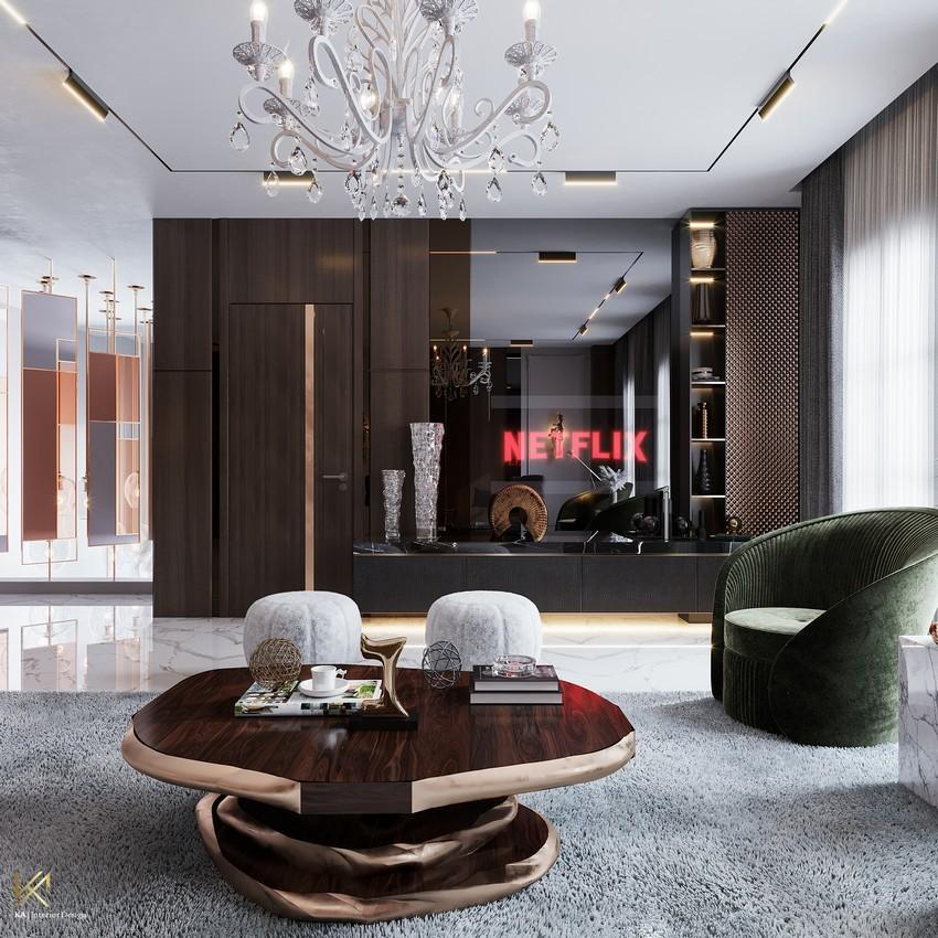 Sala de estar clásica, moderna, lujuosa y opulente en Riad sala de estar Sala de estar clásica, moderna, lujuosa y opulente en Riad Living Room 6 1
