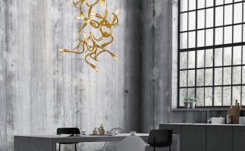 Brand Van Egmond: 7 Candelabros lujuosos y poderosos brand van egmond Brand Van Egmond: 7 Candelabros lujuosos y poderosos para un proyecto lujuoso brandvanegmond edisons tail COMPOSITION 2X ED1QBR 1X ED3BR 2X ED5BR interior 357x220