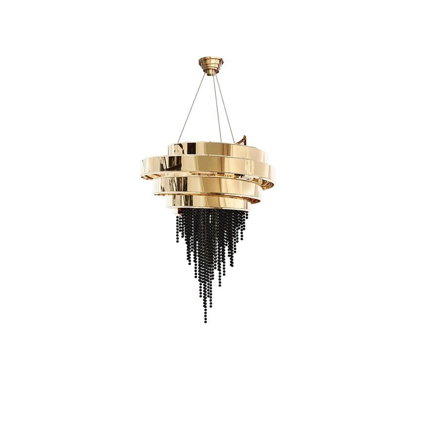 Sala de Comedor Clásico, Moderno, lujuosao y Opulente en Riad sala de comedor Sala de Comedor Clásico, Moderno, lujuoso y Opulente en Riad guggenheim chandelier luxxu 01