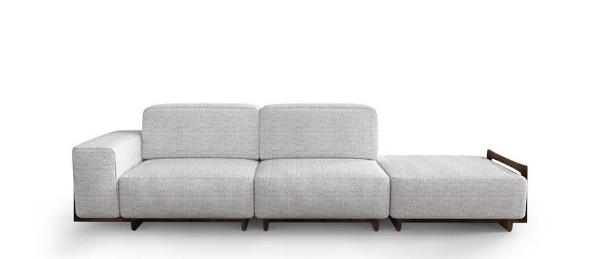 Diseño de Interiores poderosos: Lujo con 5 Diseños de Sofá para el confort del proyecto diseño de interiores Diseño de Interiores elegante : Lujo con 5 Diseños de Sofas sugar modular sofa 1
