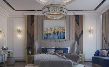 Dormitorio lujuoso: Un espacio Moderno, clásico con un toque de estilo contemporáneo