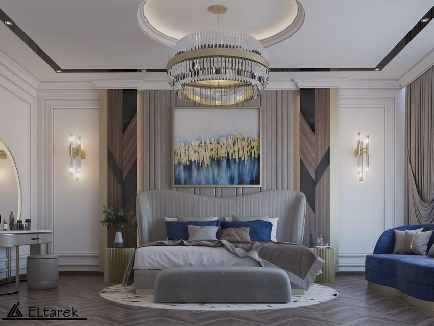 Dormitorio lujuoso: Un espacio Moderno, clásico con un toque de estilo contemporáneo dormitorio lujuoso Dormitorio lujuoso: Un espacio Moderno, clásico con un toque de estilo contemporáneo t View01