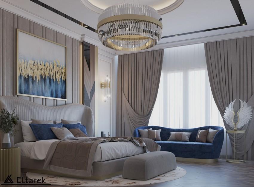 Dormitorio lujuoso: Un espacio Moderno, clásico con un toque de estilo contemporáneo dormitorio lujuoso Dormitorio lujuoso: Un espacio Moderno, clásico con un toque de estilo contemporáneo t View02