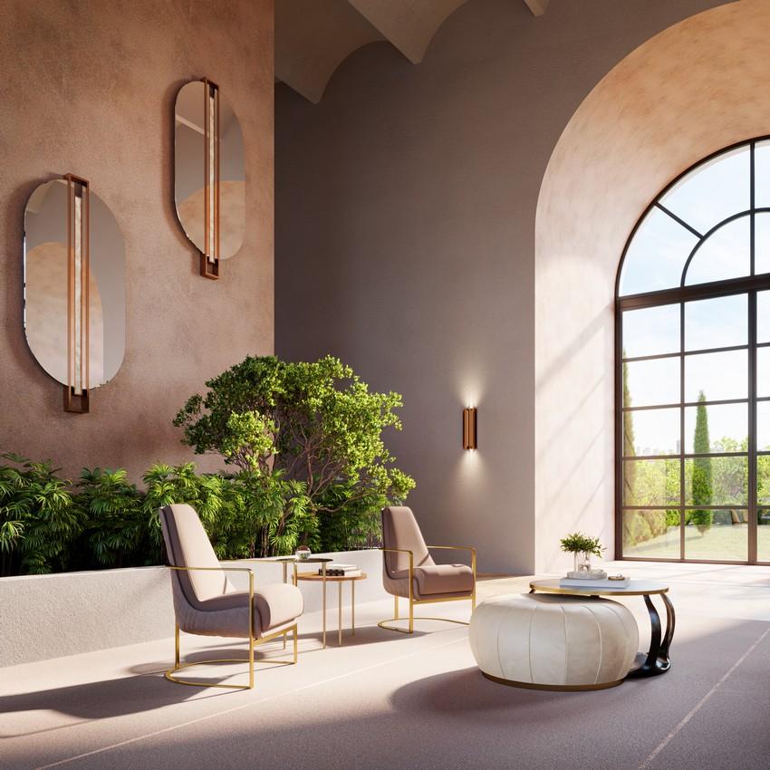 Lobby de Hotel de lujo creado por Stuart GG Studio