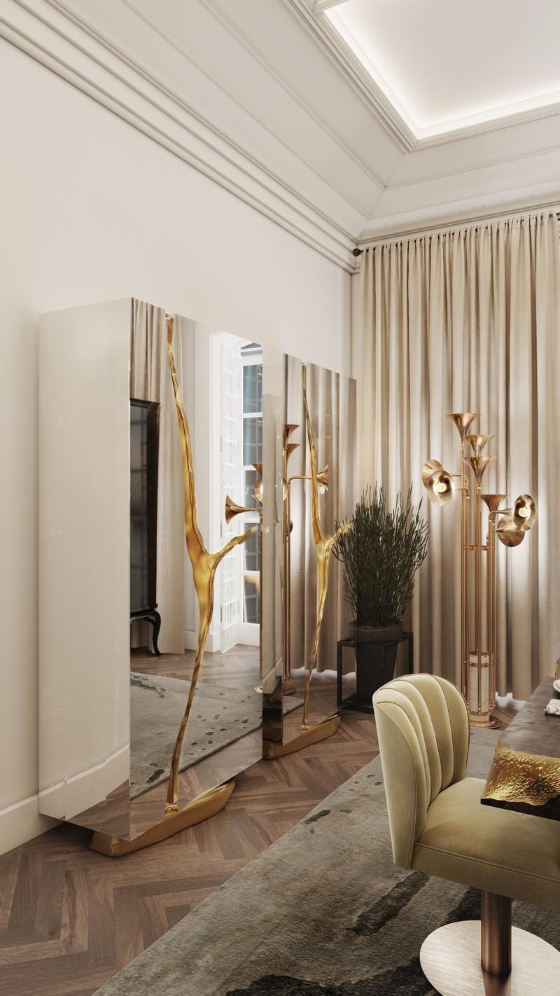 Ático ecléctico en OPorto: Mira y inspirate con detalles lujuosos y elegantes