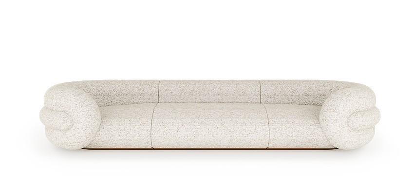 Diseño de Interiores: Sofás poderosas para un proyecto moderno y lujuoso