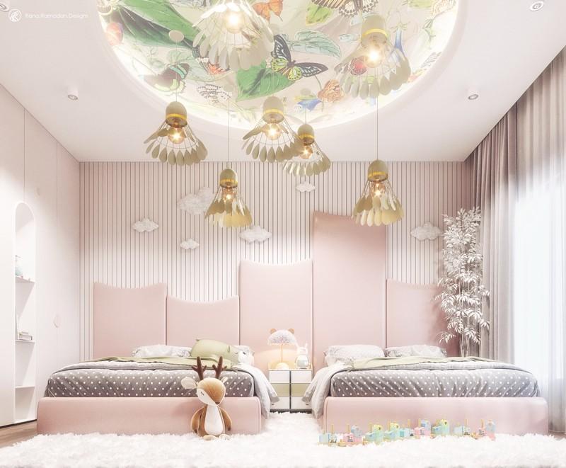 Diseño de Interiores por Rana Ramadan Designs: Un Jardín de Invierno