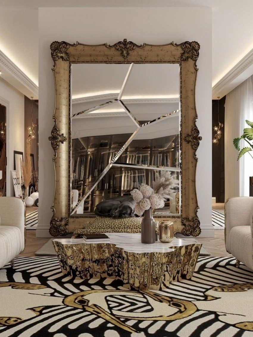 Sala de estar: Diseño de Interiores lujuoso, moderno y Atemporal