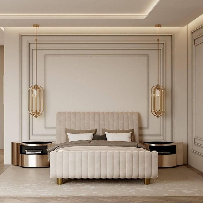Dormitorio lujuoso: Ideas de Diseño de Interiores poderosos y elegantes
