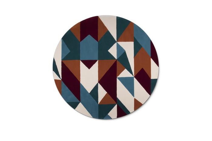 Alfombras Modernas: Un Diseño moderno con Patrones Geométricos