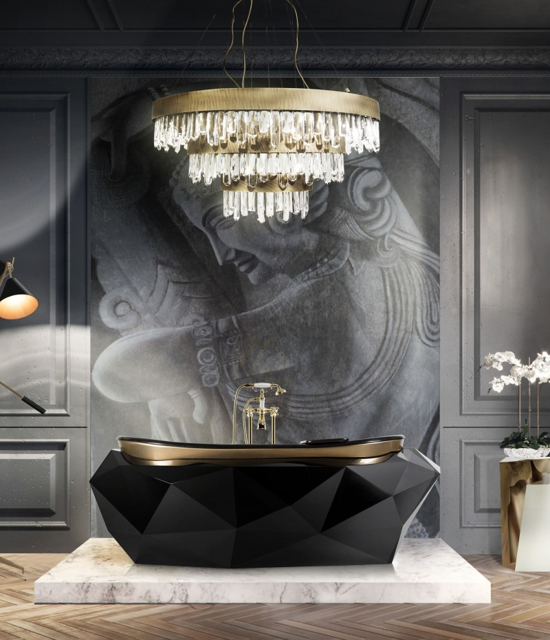 Baño Moderno: Ideas y inspiraciónes lujuosas para un espacio lujuoso