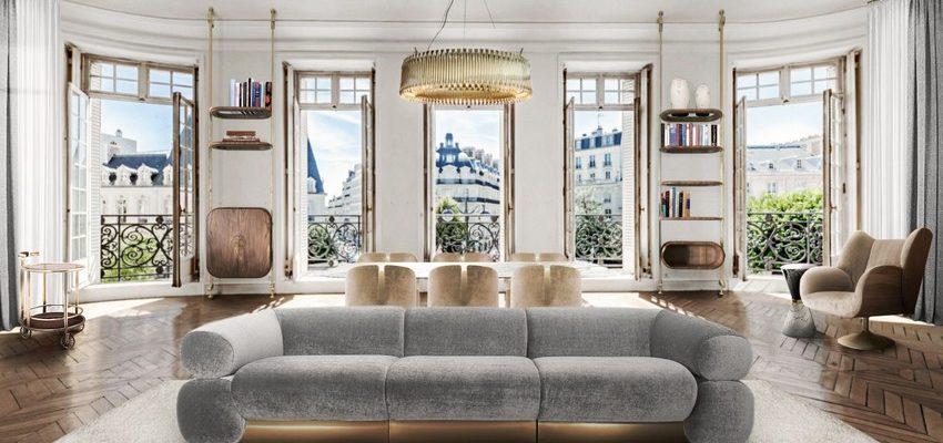 Sala de estar Medio Siglo: 7 Ideas perfectas para Interiores